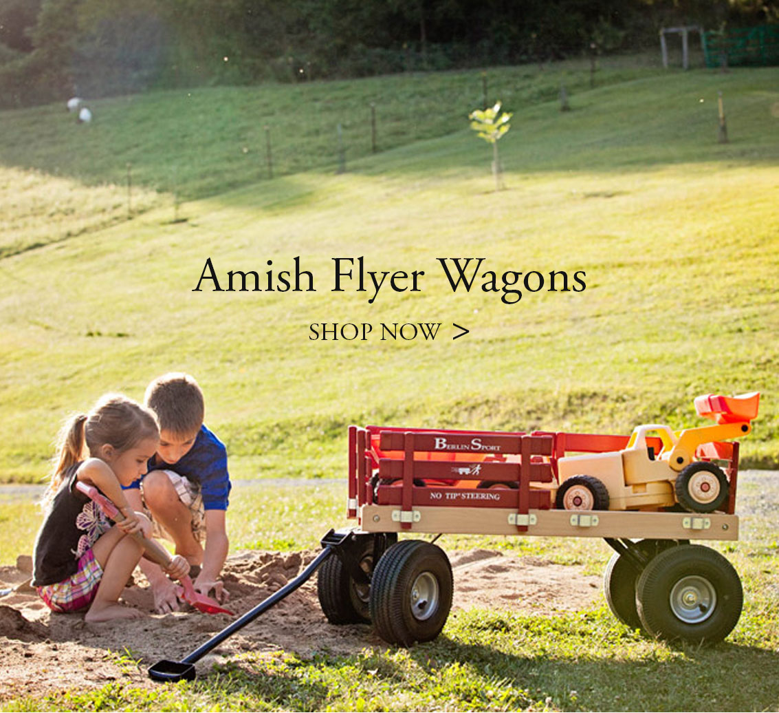 Amish Flyer Wagons